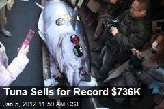 Tuna Sells for Record $736K