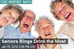 Seniors Binge Drink the Most
