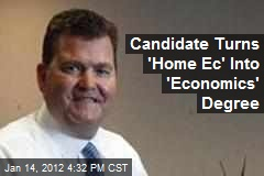 GOP Candidate Fixes &amp;#39;Home Ec&amp;#39; Flub on Resume