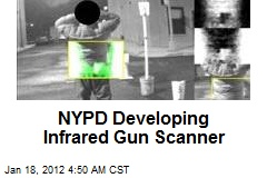NYPD Developing Infrared Gun Scanner