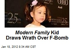 Modern Family Kid Draws Wrath Over F-Bomb