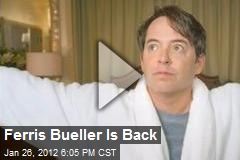 Ferris Bueller Is Back