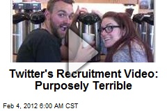 Twitter's Recruitment Video: Purposely Terrible