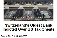Swiss Bank Indicted Over US Tax Cheats