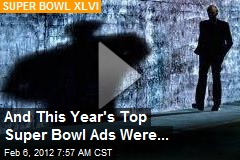 And This Year's Top Super Bowl Ads Were...