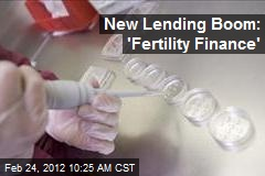 New Lending Boom: 'Fertility Finance'