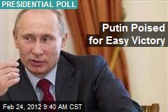 Putin Poised for Easy Victory