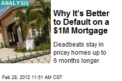 Why It&amp;#39;s Better to Default on a $1M Mortgage