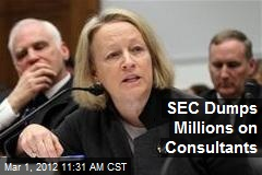 SEC Dumps Millions on Consultants
