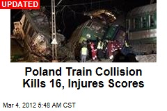 Poland Train Collision Kills 15, Injures Scores