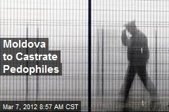 Moldova to Castrate Pedophiles