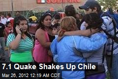 7.1 Quake Shakes Up Chile