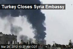 Turkey Closes Syria Embassy