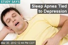 Sleep Apnea Tied to Depression