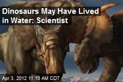 Dinosaurs May Have Lived in Water: Scientist