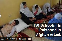 150 Schoolgirls Poisoned in Afghan Attack