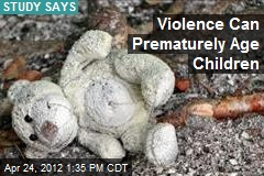 Violence Can Prematurely Age Children