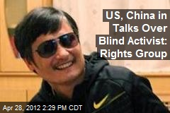 US, China in Talks Over Blind Activist: Rights Group