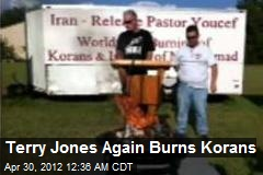 Terry Jones Burns Korans