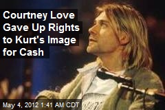Courtney Love Relinquishes Rights to Kurt Cobain's Image