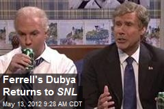 Ferrell's Dubya Returns to SNL
