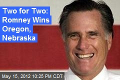 Two for Two: Romney Wins Oregon