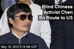 Blind Chinese Activist: I'm Coming to the US—Today