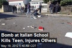 Bomb at Italian School Kills Teen, Injures Others