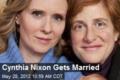 Cynthia Nixon Gets Married