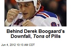 Behind Derek Boogaard's Downfall, Tons of Pills