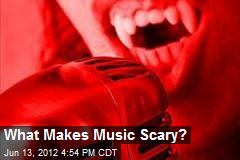 What Makes Music Scary?