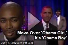 Move Over 'Obama Girl,' Here's 'Obama Boy'