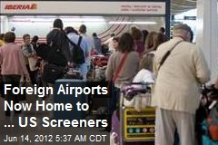US Boosts Overseas Airport Security