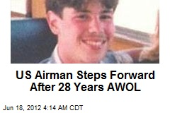 US Airman Steps Forward After 28 Years AWOL