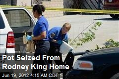 Pot Seized From Rodney King Home