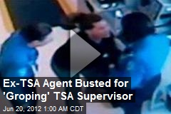 Ex-TSA Agent Busted for 'Groping' TSA Supervisor
