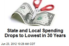 State and Local Spending Drops to Lowest in 30 Years