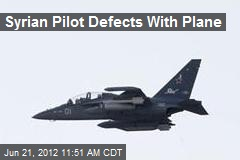 Syrian Pilot Defects With Plane