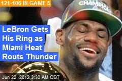 Miami Heat Routs Thunder to Nail NBA Championship