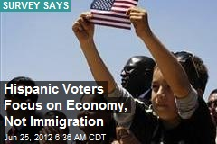 Hispanic Voters Focus on Economy, Not Immigration