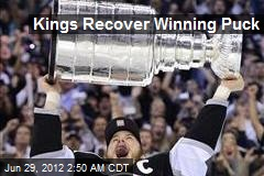 Kings Recover Winning Puck