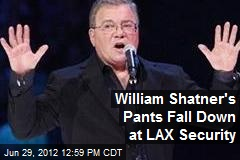 William Shatner's Pants Fall Down at LAX Security