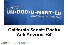 California Senate Backs 'Anti-Arizona' Bill