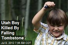 Utah Boy Killed By Falling Tombstone