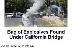 Bag of Explosives Found Under Calif. Bridge