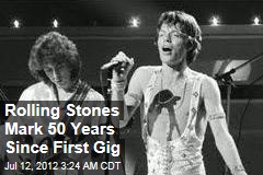 Rolling Stones Mark 50 Years Since First Gig