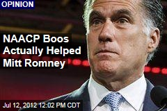 NAACP Boos Actually Helped Mitt Romney