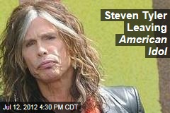 Steven Tyler Leaving American Idol