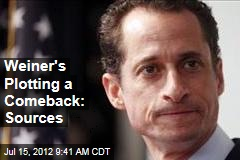Weiner's Plotting a Comeback: Sources