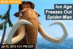 Ice Age Freezes Out Spider-Man